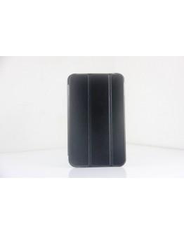 Husa protectie Smart Cover stil business pentru Samsung Galaxy Tab 3 7.0 T210/T211/P3200 - neagra
